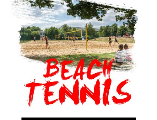 Anmeldung zum Beach-Tennis Turnier 2020 freigeschaltet!