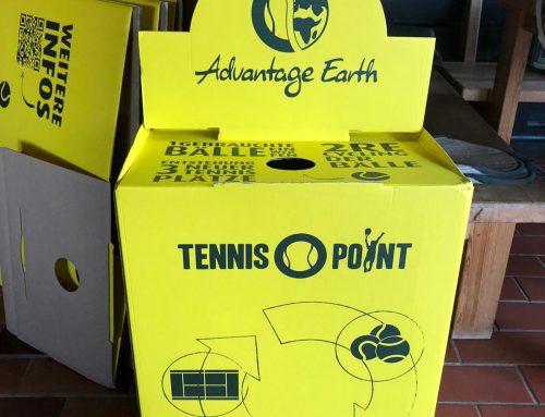 Aus Alt mach Neu – Recycling Aktion bei der Tennisabteilung!